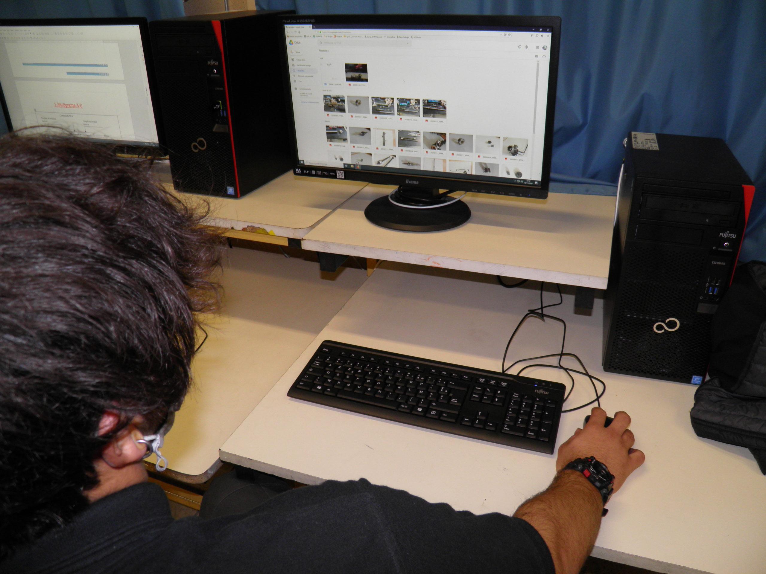 L'accès aux différents documents numériques - chef d'oeuvre T CAP maintenance auto Lavoisier